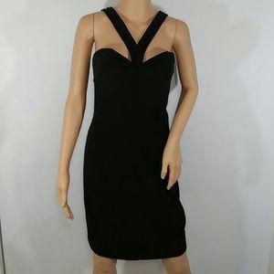 Black Tie SweetHeart Beaded Dress Size 10